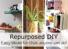 A website dedicated to new ways to reuse and repurpose items Angela Lusty onto Reduce, Reuse, Recycle