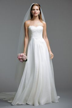 wedding dress--love top style