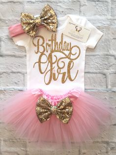 A personal favorite from my Etsy shop https://www.etsy.com/listing/511379826/baby-girl-clothes-first-birthday