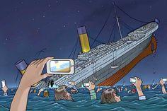 If Titanic sank in 2015.