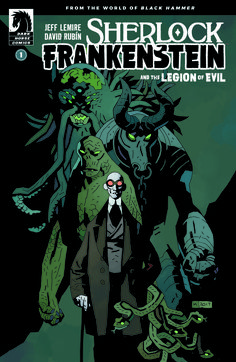 Exclusive | Mike Mignola covers Sherlock Frankenstein & the Legion of Evil # 1