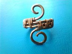 Wire wrap copper ring