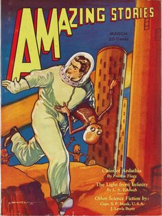 Amazing Stories, March 1932