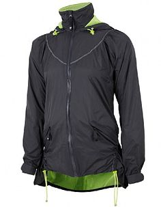 Sweaty Betty All Weather Jacket (gathering/ drawcord at princess seams)