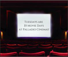 palladio $5 movie night