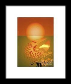 Sungazing Framed Print By Eleni Mac Synodinos