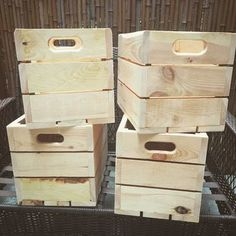 Custom Made Apple Boxes / Crates