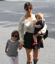 Kourtney Kardashian - The Kardashian Family Goes to Church