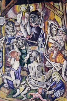 """Frauenbad/Women's Bath"" by Beckmann"