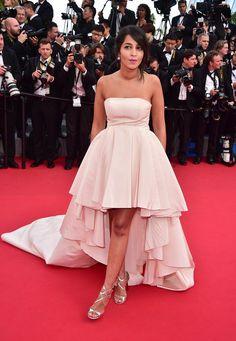Pin for Later: Personnalités Françaises et Stars Hollywoodiennes Ont Envahi Cannes Jour 1 Leila Bekhti