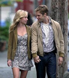 Life Unexpected - Eric & Lux.She is lucky I would love to hold his hands lol