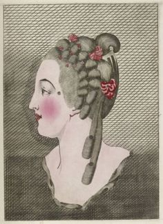 American Duchess:Historical Costuming: V62: The Hairstylings of Madame de Pompadour, by Legros de Rumigny