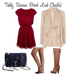 """""""Teddy Duncan (Good Luck Charlie)"""" by guardingangels ❤ liked on Polyvore featuring moda, Pull&Bear, Oasis, Anna Field, Rebecca Minkoff e 2b bebe"""