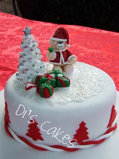 christmas pasterys | 2012 christmas candle cakes