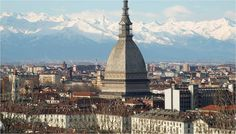 Photo about Turin panorama seen from the hill, with Mole Antonelliana (famous ugly wedding cake architecture). Image of torino, cappuccini, italy - 8192656 Turin Italy, Venice Italy, Tromso, Graphic Design Posters, Salzburg, Walt Disney World, Places Ive Been, Paris Skyline, The Good Place