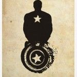 Captain America. Would love this as a tattoo! I've been thinking I want a captain America tattoo for a couple of days.