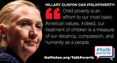 When advocates #talkpoverty leaders like Hillary talk solutions @WhiteHouse pls talk poverty solutions #SOTU  To RT on Twitter, click the image!