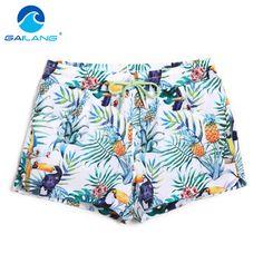 GAILANG Brand Women Swimwear Swimsuits Boxer Trunks Active Woman Beach Boardshorts Plus Big Size XL Bottoms Quick Dry