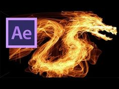 After Effects: Flame Logo Effect - YouTube