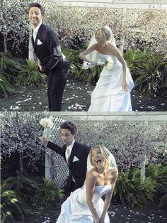 scrubs...so happy when they finally got married