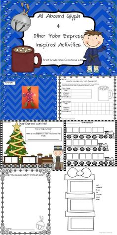 $ Children LOVE Christmas! This engaging glyph will be a great addition to your Christmas theme. Pull out your copy of The Polar Express by Chris Van Allsburg and breath new life into this classic holiday theme.