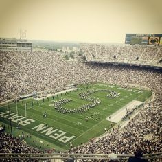 A must see and make a photo moment.  2nd largest college football stadium. Beaver Stadium