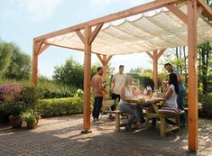 When historical in idea, the particular pergola has been having a bit of a modern