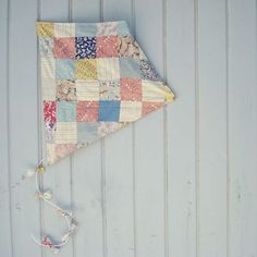 quilted kite