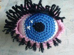 Amigurumi Eyes Pattern : Oval shaped eye free pattern crocheted toys amigurumi