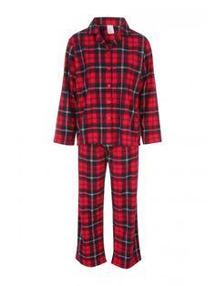 Womens Check Wincy Pyjamas | Peacocks
