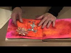 Journal Page Alterations: Tip-Ins And Trimmings by Joggles.com - YouTube