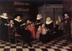 Anthonie Palamedesz. - Family Portrait, 1635