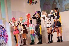 Dempagumi.inc / でんぱ組.inc - スマートフォンゲーム「ファントムオブキル」cosplay