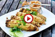 Easy way to prepare fresh corn Video #corn, #cooking, #kitchen, #food, #pinsland, #howto, https://apps.facebook.com/yangutu