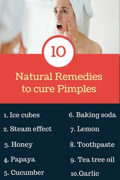 10 Natural Remedies to Get Rid Of Pimples That Work Fast If you are dealing with pimples then there is no need to worry. Here you will learn about the top 10 home remedies that will help you to get rid of pimples in a really fast manner. Home Remedies For Pimples, How To Get Rid Of Pimples, Natural Acne Remedies, Home Remedies For Acne, Back Acne Treatment, Pimples Under The Skin, Acne Scar Removal, Oily Skin Care, Cooking