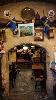 Cafe Sten Sture, Gamla Stan, Stockholm, Sweden: A charming underground cafe that originally was a prison in the 1300s! http://talesofsheaves.blogspot.se/2014/11/our-birthdays-october-2014.html---MA, IN PARTICOLARE, QUI MI SON SCOLATO INNUMEREVOLI PINTE DI BIRRA, NELL'INVERNO DEL 1987!!! ALTRO CHE CAFFE'...!!!