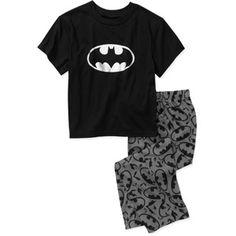 Ayden...DC Comics Batman Boys' 2 Piece Pajama Set