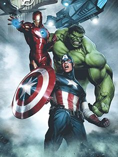 """Edge Home Products Avengers Canvas with LED Lights, 12 by 16"""", Grey Edge home http://www.amazon.com/dp/B00ZB0Y74O/ref=cm_sw_r_pi_dp_NU4owb17WVXDS"""