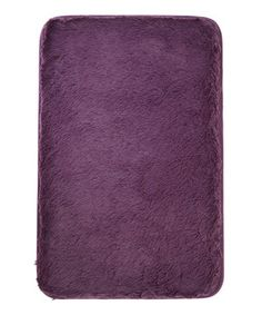 Never step out of the shower and onto cold tile again thanks to this memory foam bath mat. The gentle polyester will feel great on bare toes while soaking up excess moisture.