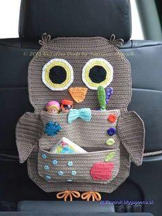 Resultado de imagen de funda de sillones de coche crochet