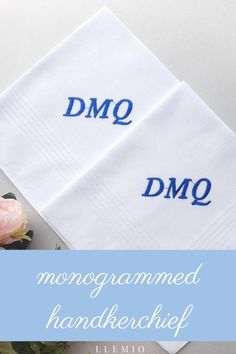 Dont know what to give Dad or Groom on the wedding day? The best wedding gift for father of the bride & Groom - Personalized Handkerchief from the Bride. Wedding handkerchiefs make special keepsakes that will be cherished for years to come. See some ideas about Wedding gifts to parents. SIZE • 16 x Wedding Gifts For Parents, Best Wedding Gifts, Gifts For Father, Wedding Day, Spring Wedding, Mens Monogram, Wedding Planning Guide, Long Distance Gifts, Wedding Handkerchief