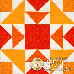 Learn To Quilt Series - Intermediate Quilt Kit