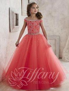 490d6256d172e Buy Elle 2016 floor length flower girl dresses boat neck with beading tulle  lace up Online