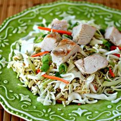 "Portable Chinese Chicken Salad | ""Great crowd pleaser! Everyone wanted the recipe!"""