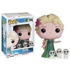 Disney Frozen Fever POP Elsa Vinyl Figure