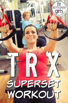 Ready for a fitness challenge? Try this TRX superset workout this week!