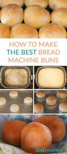 Learn how to make the best bread machine buns. Super soft and so easy to make! Delicious right out of the oven. Irresistibly delicious smell - you'll have to test at least one.