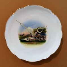 """Gettysburg """"High Water Mark Monument"""" Collectible Plate Clock by AlcatCustomClocks on Etsy"""