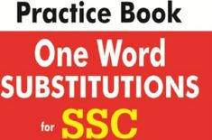 One Word Substitution For Ssc 5000 Pdf