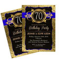 birthday invitation : 70th birthday invitations - Free Invitation for You - Free Invitation for You